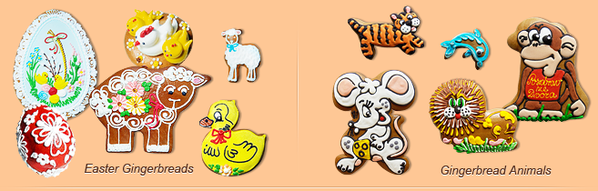 Easter Gingerbreads and Gingerbreads Animals
