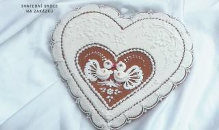 Svatební srdce na zakázku