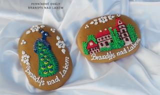 Perníkové ovály Brandýs nad Labem
