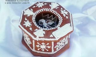 Dárková klenotnice - vánoční perníčky