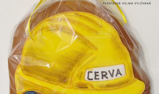 Perníková helma CERVA