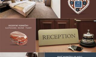Perníčky pro Vaše ubytovací zařízení s Vaším logem